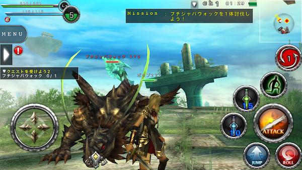 3DのMMORPG・オンラインゲームア...