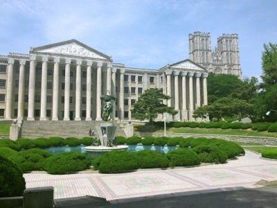 慶熙大中庭
