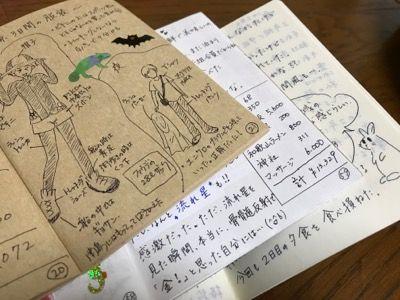 旅ノート中