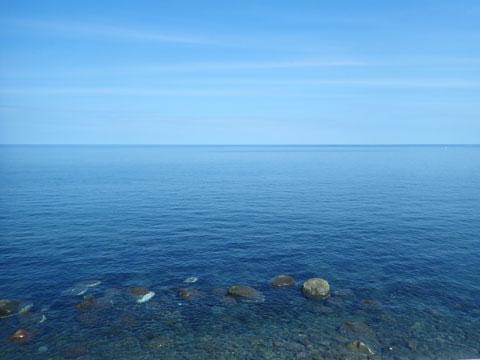 オホーツク海?