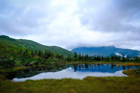 羅臼湖三の沼