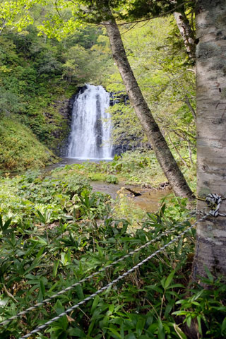 熊越の滝展望台