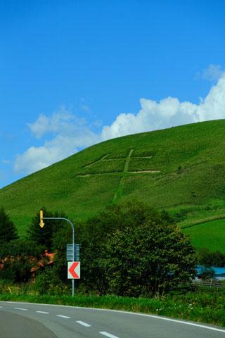 モアン山の牛文字