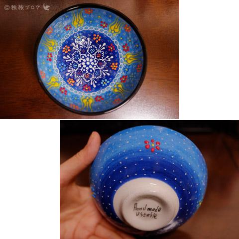 キュタフヤ陶器の絵皿