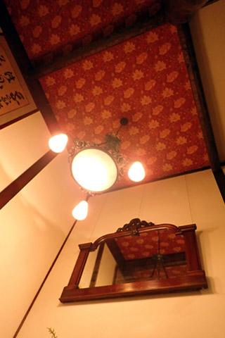 徳澤園-天井