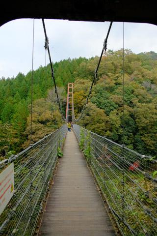 多良峡の吊り橋