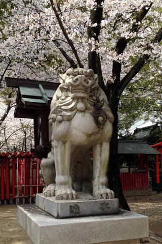 那古野神社の狛犬