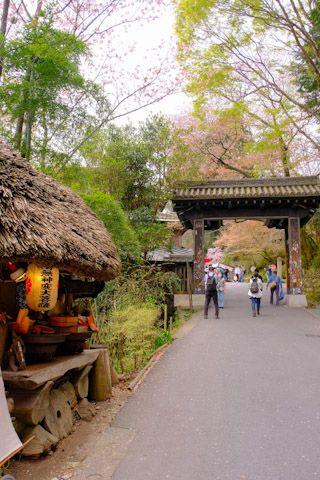 吉野山黒門