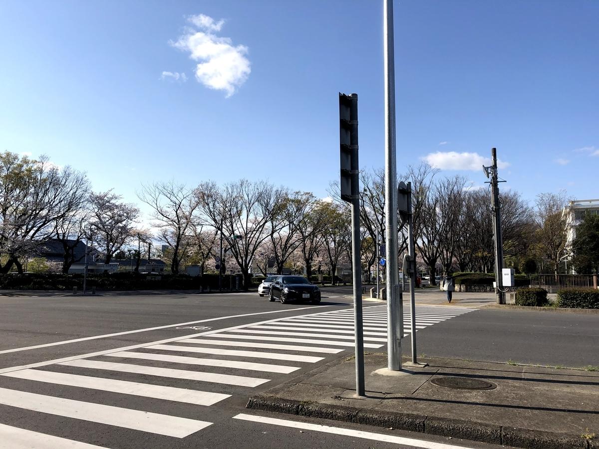 名古屋城南側からの入口の様子