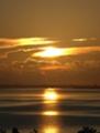 小浜島の夕陽