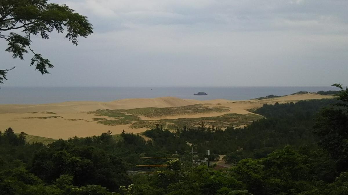 鳥取砂丘の写真(遠景)