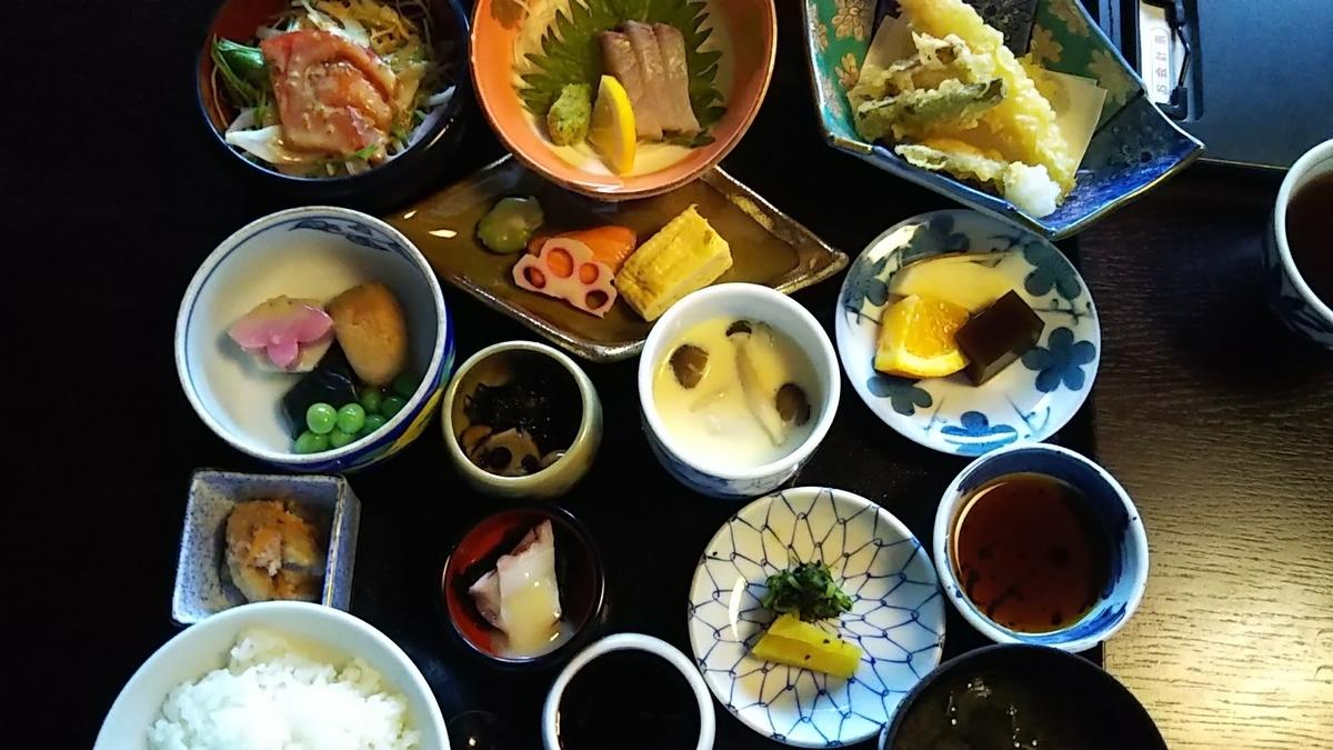 日本料理飛鳥 料理の写真
