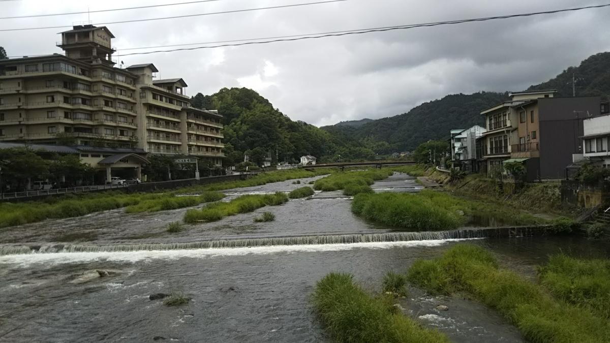 三朝温泉の写真