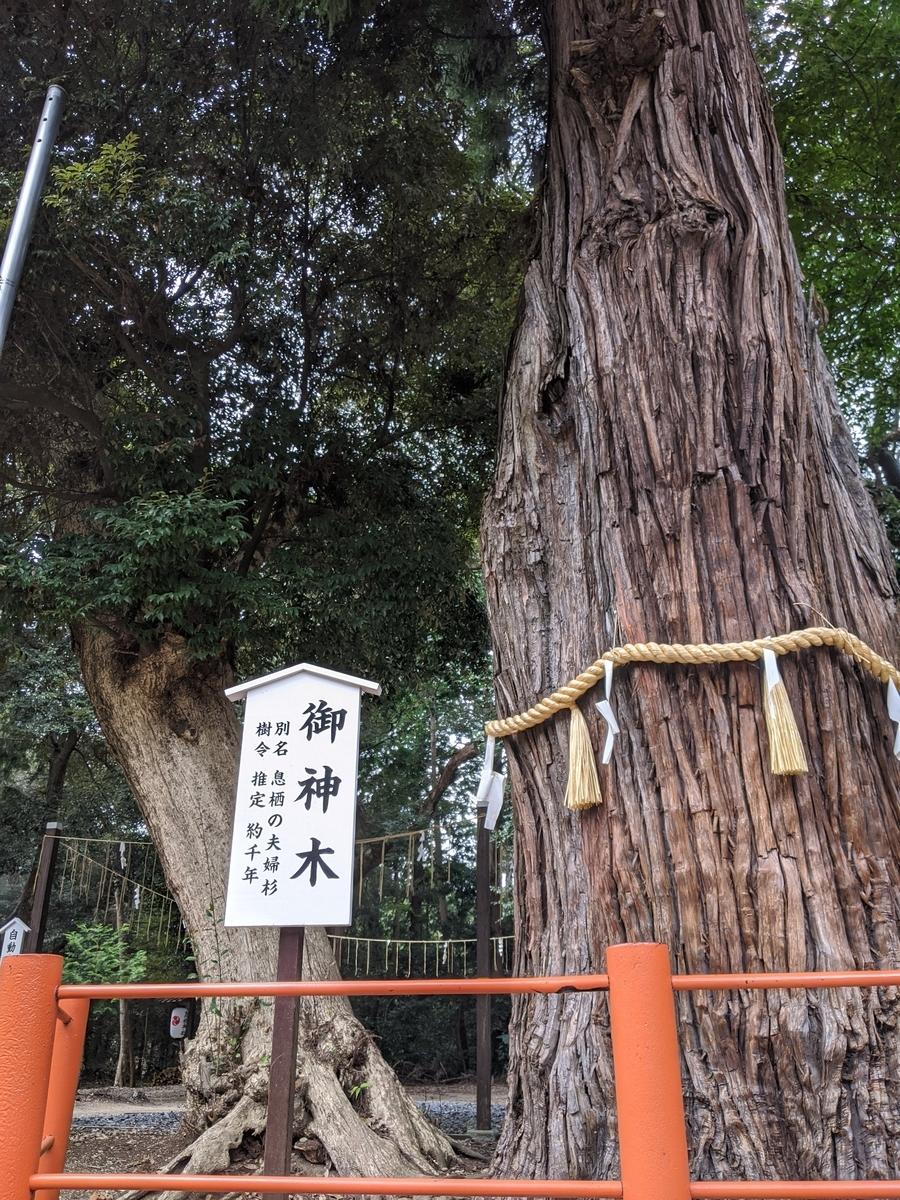 息栖神社の写真