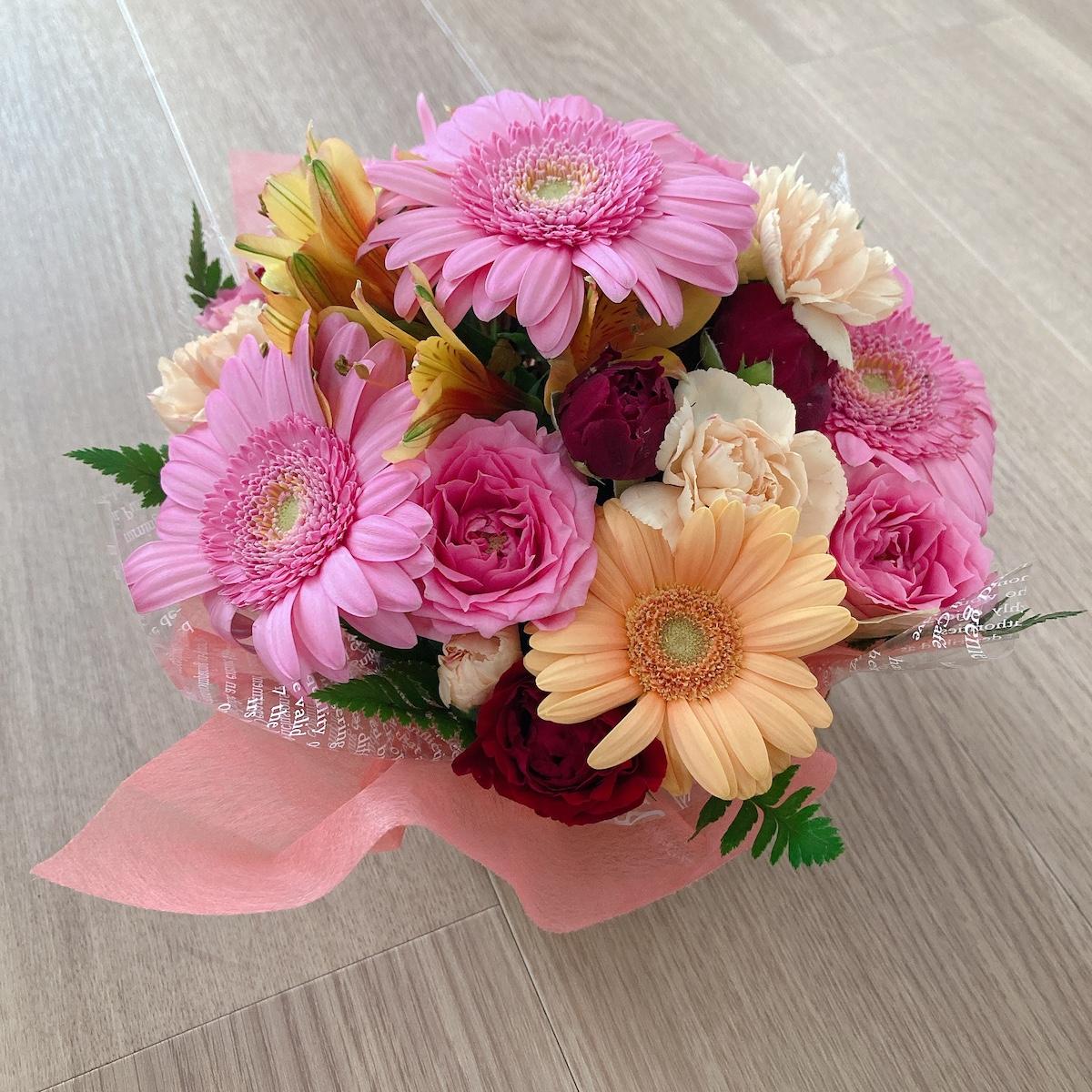 退職祝いのお花