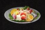 果物と野菜のサラダ