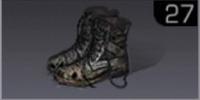 せくスターの軍用ブーツ