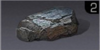 煤精石の塊