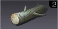 白い硬木の棒材