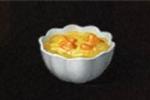 カボチャとコーンのスープ