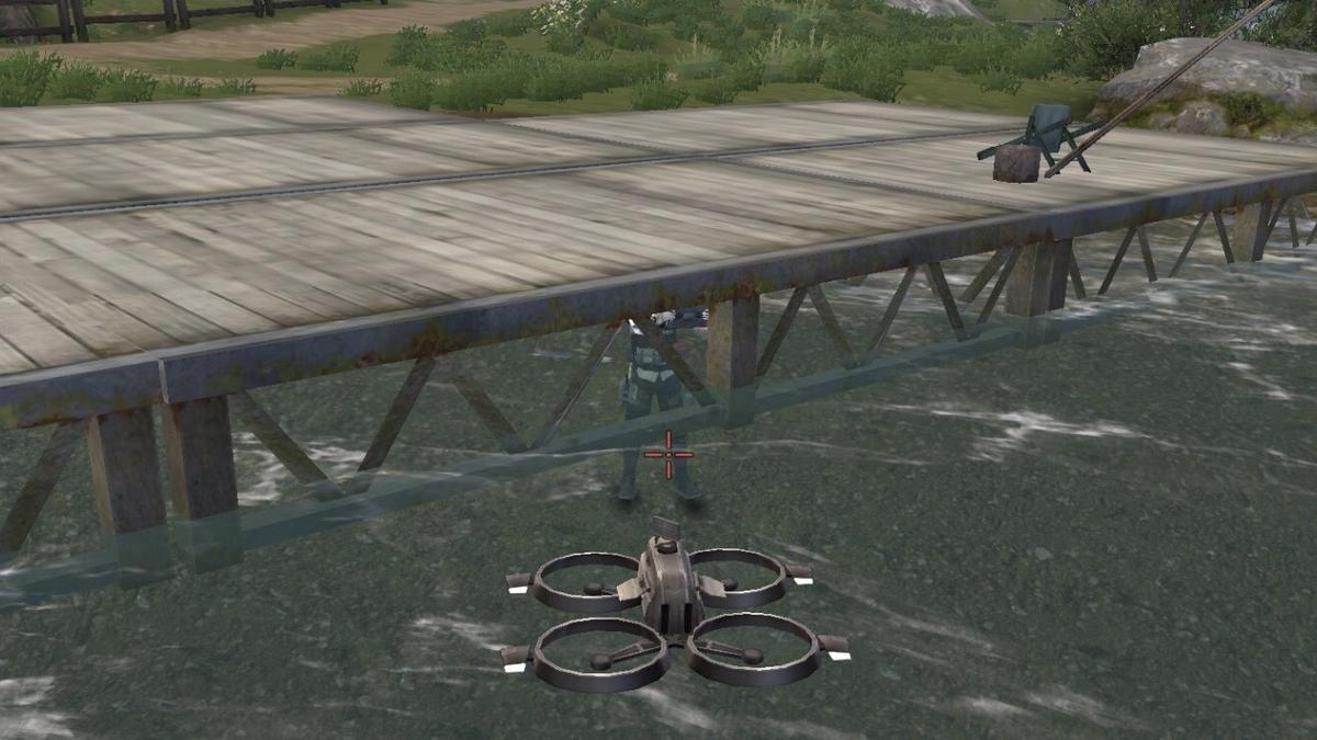 野営地釣り