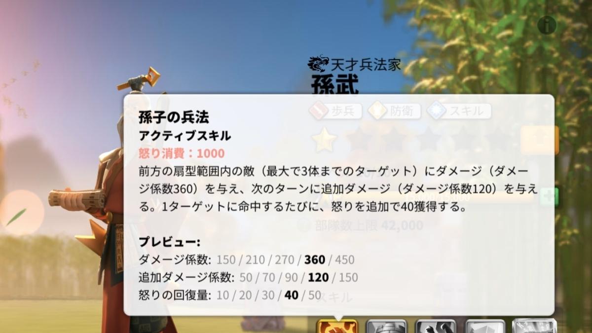 ライズオブキングダム_怒りスキル