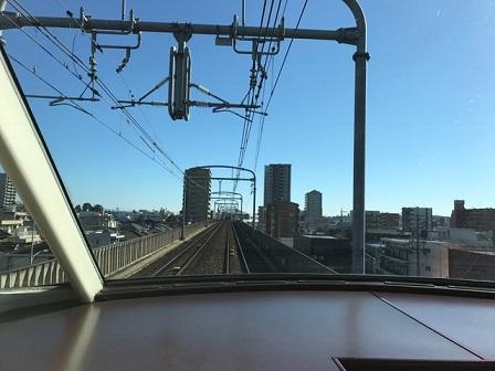 名鉄パノラマカー展望