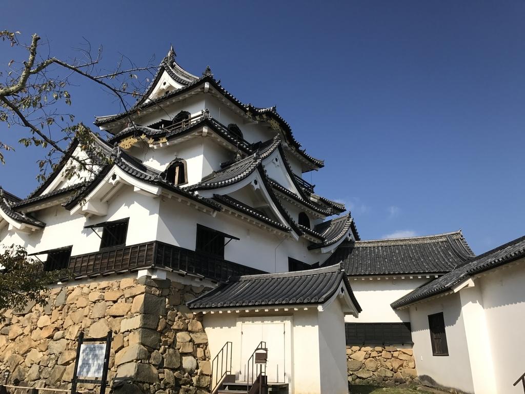 夏の彦根城天守閣