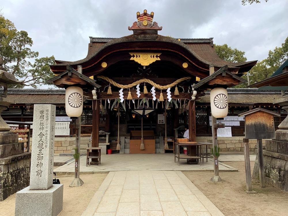 藤森神社の拝殿