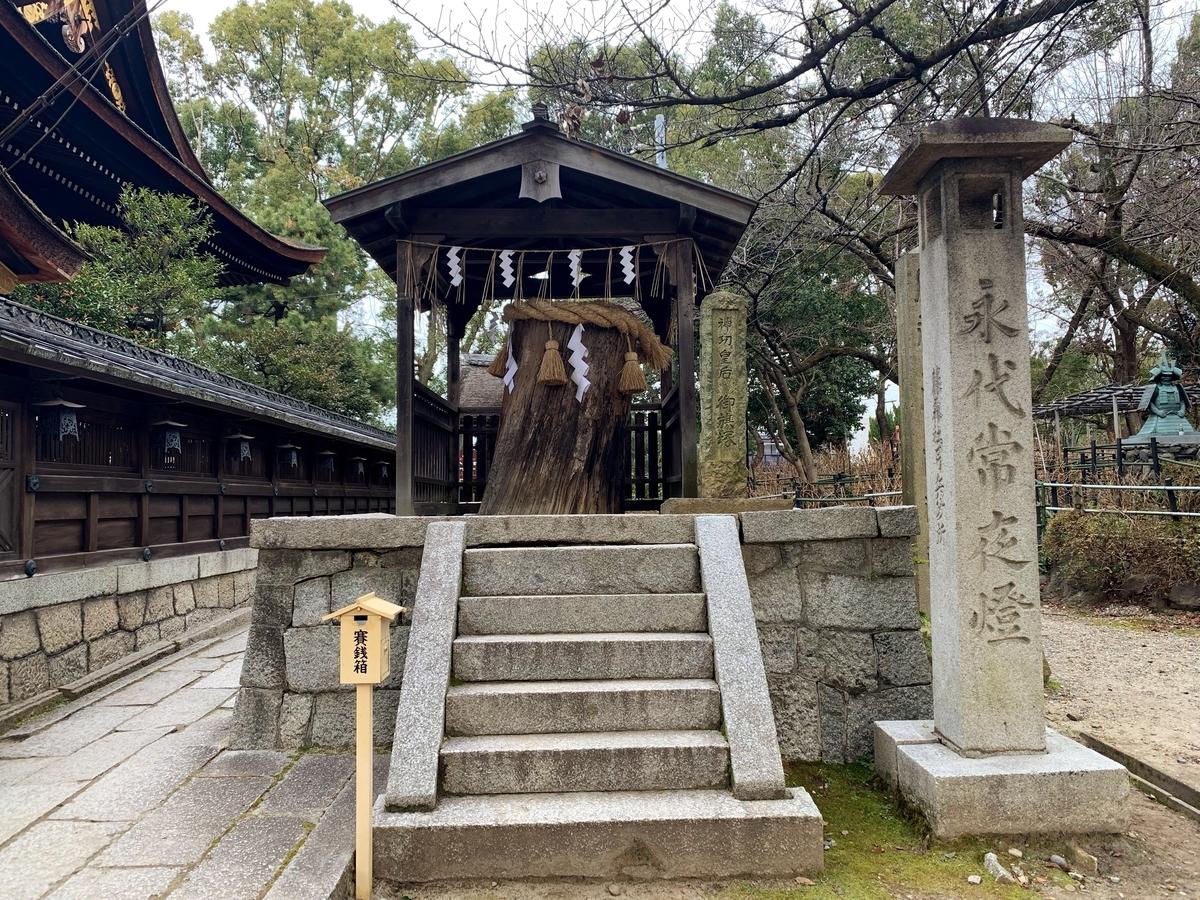 藤森神社の御旗塚