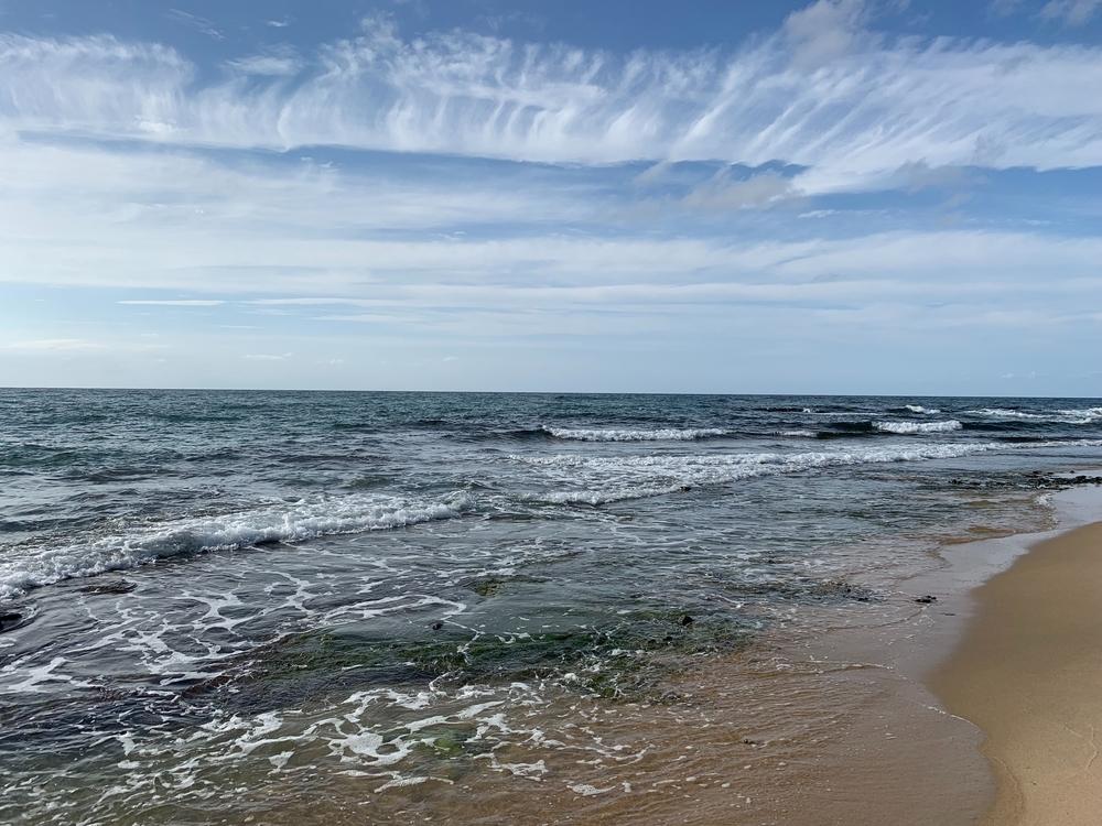 京丹後の観光地琴引浜の鳴き砂