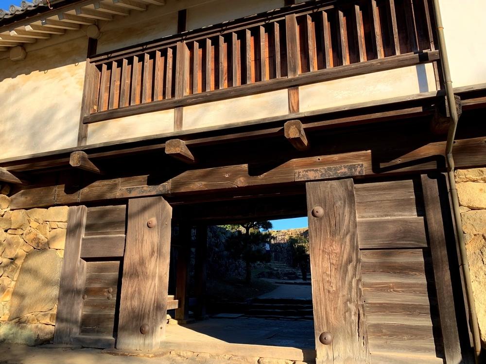 彦根城の太鼓門櫓