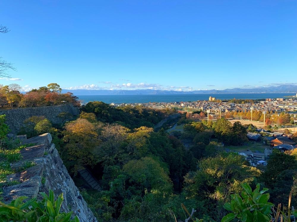 彦根城天守から見える景色