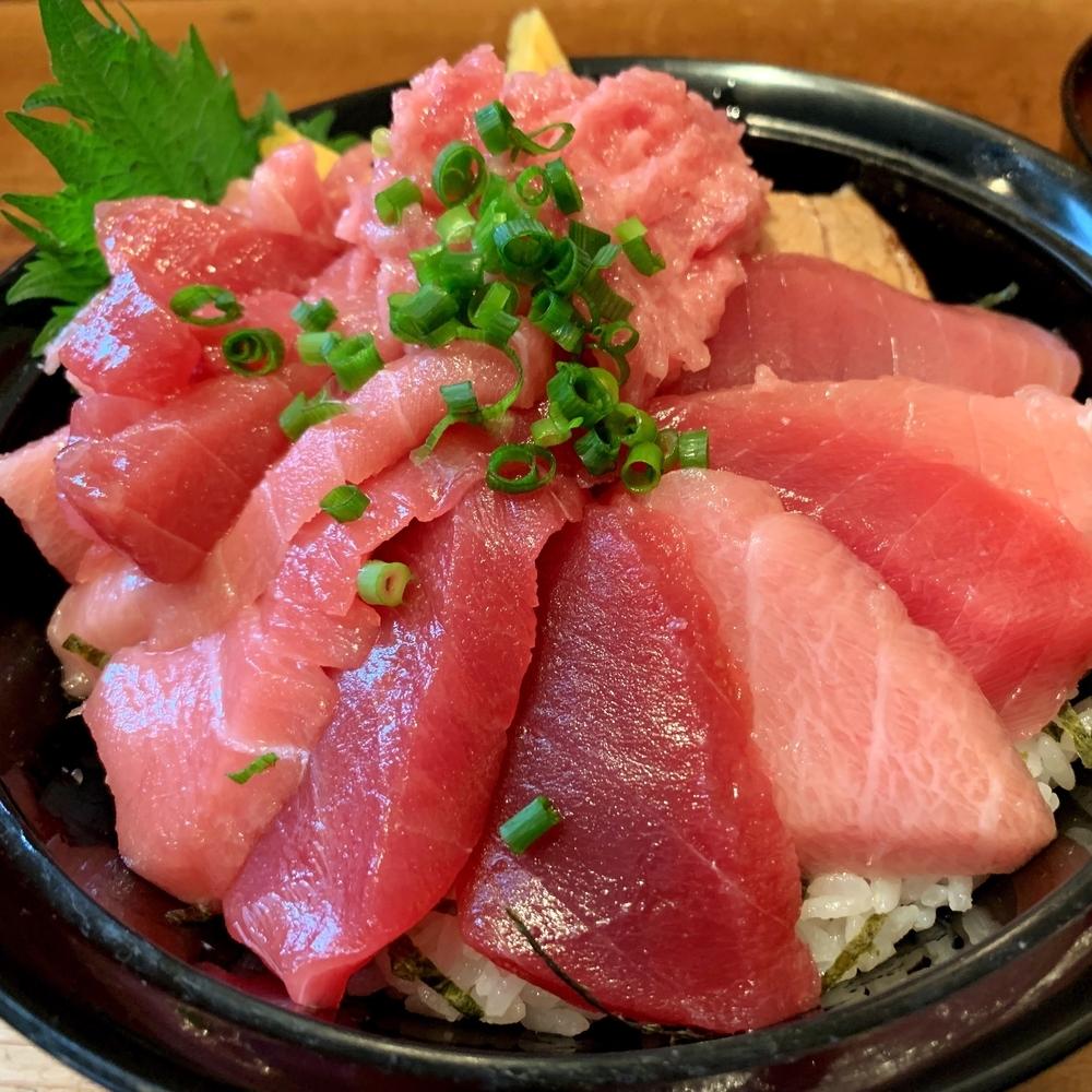 静岡駅周辺の大人気まぐろ丼専門店清水港みなみのまぐろ丼