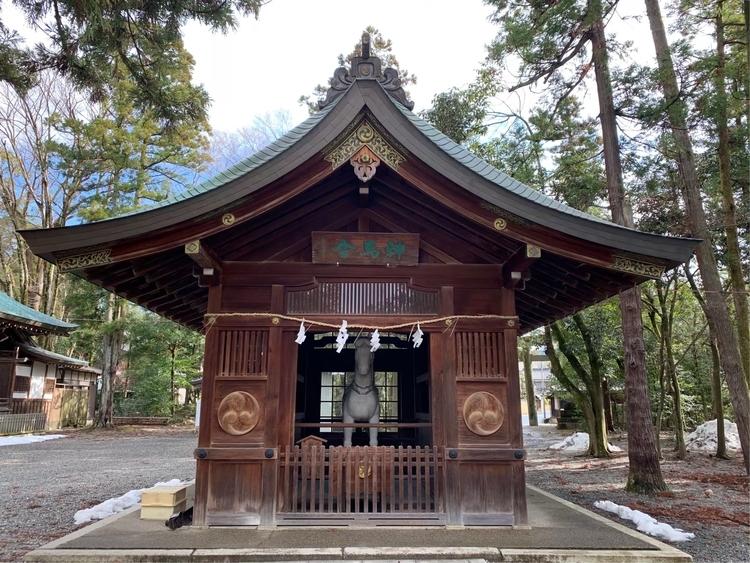 多賀大社の神馬舎