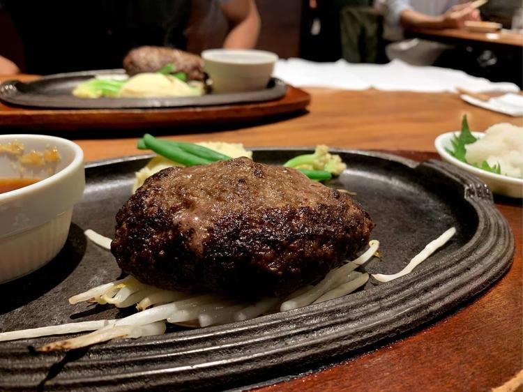 五反田の人気店「ミート矢澤」のさっぱり和風おろしハンバーグ
