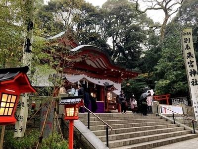 来宮神社の本殿
