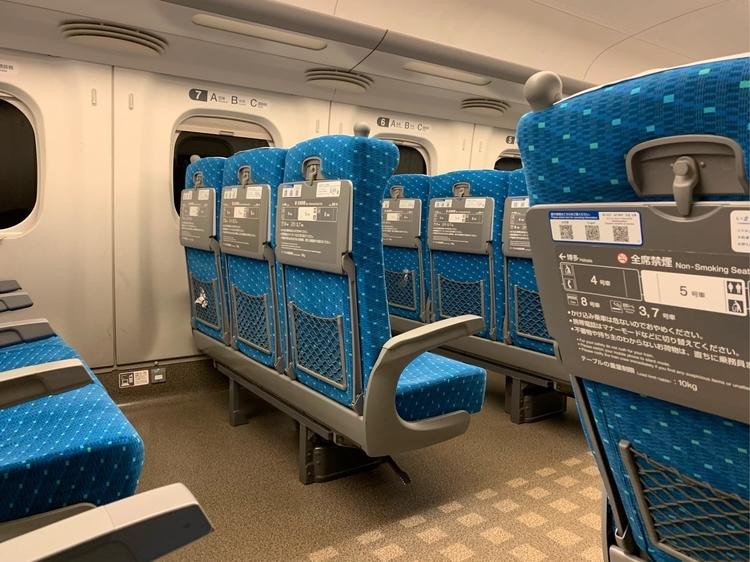 N700系新幹線の座席