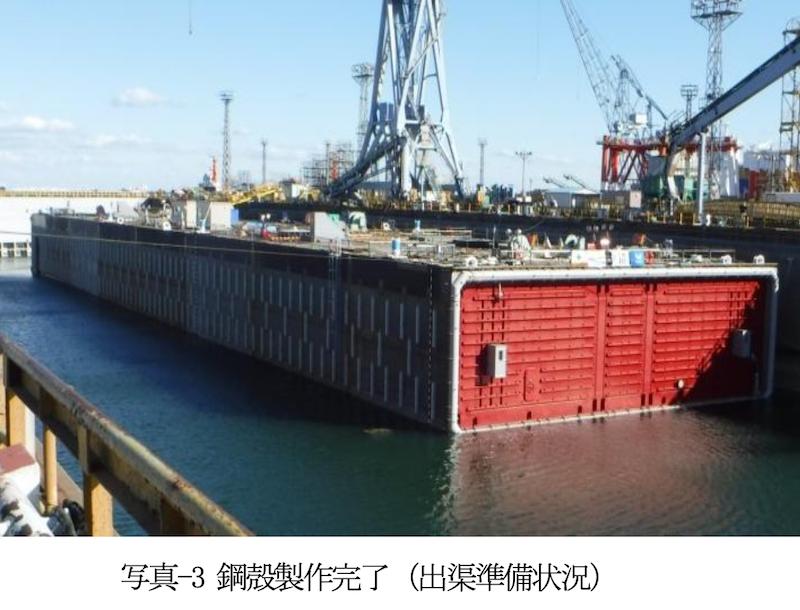 183 東京港臨港道路南北線の最後の沈埋函の設置終了 2019年度内 ...