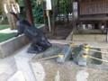 護王神社の手水