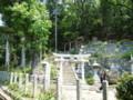 松ヶ崎の岩上神社