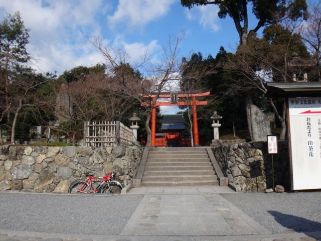 天龍寺の八幡社