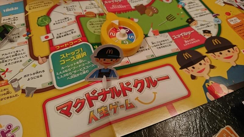 コース分岐の選択マス - マクドナルドクルー 人生ゲーム