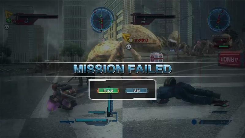 [ミッション9. 滅びの楔]初ミッション失敗時の様子【地球防衛軍5】