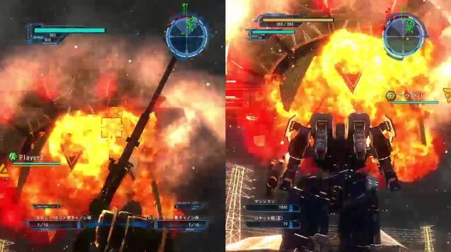 [ミッション13. 転機]初めてテレポーション・シップを撃墜した瞬間の様子【地球防衛軍5】