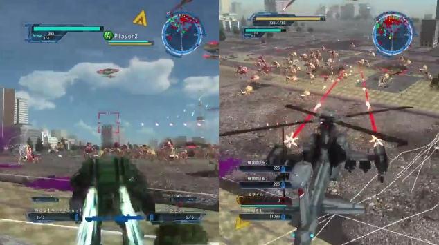 [ミッション25. 再進撃]第3波のクモを迎撃するところ【地球防衛軍5】