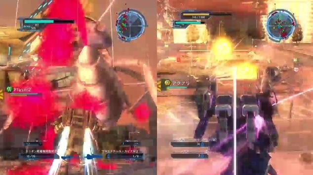 [ミッション40. 苛烈なる戦場]マザーモンスターと戦っているシーン【地球防衛軍5】