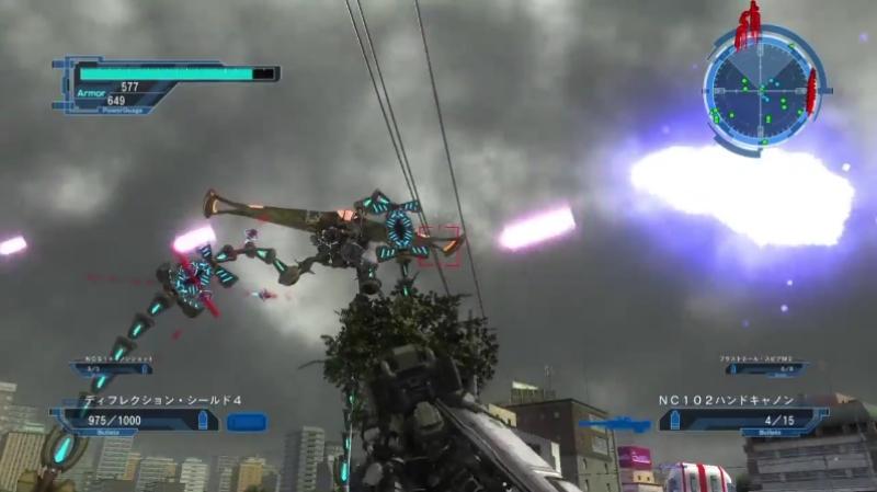 ディロイ Type-Bと戦うフェンサー【地球防衛軍5】