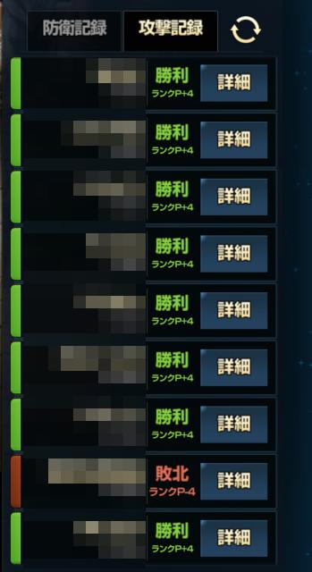 1ライン集中突破型の2ライン陣形で攻撃した結果、大勝利!!【ブラウンダスト】