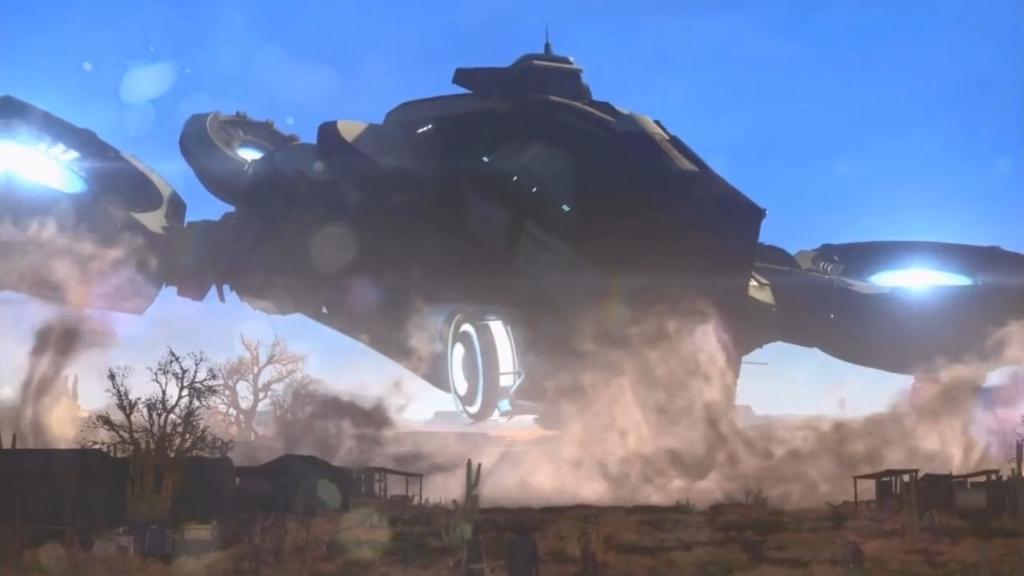 空を飛べるようになった移動母艦【XCOM2】